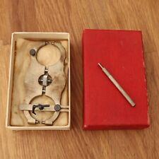 Watchmaker Levin Balance Caliper w/ Original Box Collectible Tool Horology