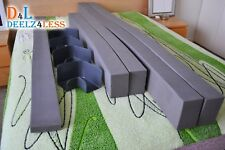 """Used Select Comfort Sleep Number Queen Size Side Rails Border Foam Walls 6"""" Tall"""