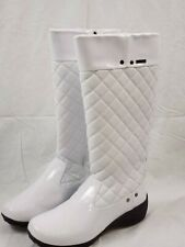 NEW - Khombu Waterproof Quilted Boots - Marylin - Winter Snow Rain - White Sz 11