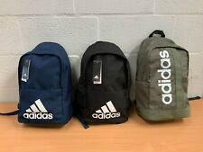 ADIDAS CLASSIC BACKPACK NAVY BLACK GREEN NEW