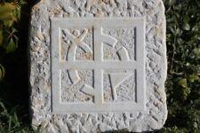 Geocache Geocaching Sandstein Wappen Filmdose Petling Logbuch Nano Versteck
