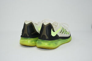 Nike Air Max 2015 GS White Green Pure Platinum Shoe Sneaker 705457 100 Size 6Y