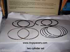 YAMAHA XV920 81-83 VIRAGO Vee twin 2 cylinder set, STD PISTON RINGS Standard