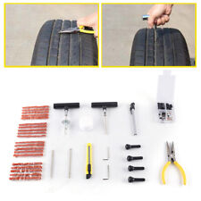91Pc Heavy Duty Tire Repair Kit Flat Tire Puncture Repair Motorcycle Pro