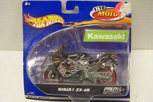 HOT WHEELS 1/18 MOTO Ninja ZX-9R METAL COLLECTION Kawasaki DIECAST MODEL