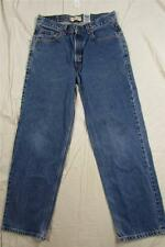 Levi 550 Relaxed Student Fit Denim Jeans Faded Tag Size 30x30 Measure 31x29.5