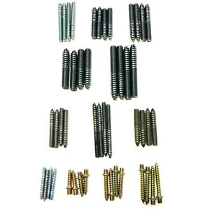 Wood To Metal Dowel Fixing Screws Hanger Bolts For Furniture