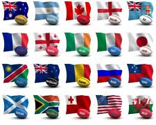 More details for international rugby nations flags of the world & party bunting speedy delivery