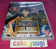 ONE PIECE PIRATE WARRIORS TREASURE EDITION SONY PS3 NEUF 100% PAL FR