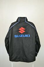 SUZUKI MOTO GP GSX WATERPROOF JACKET CLINTON EDITION BIG LOGO Size L LARGE