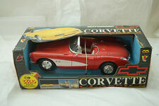 VINTAGE FRICTION TOY CAR CORVETTE ZAP TOYS 1993 NEW IN BOX 11in LONG RED MIB