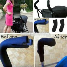 1Pair Baby Stroller/Pram/Buggy/Pushchair Handle Covers Double Bar Grip Sleeve LJ