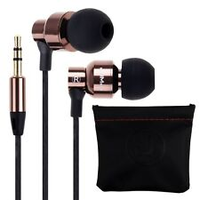 3.5mm In-Ear Earphone Headset Headphone w/ Pouch For iPhone Samsung HTC LG MOTO