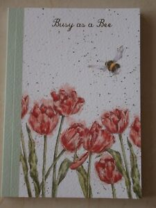 Beautiful WRENDALE A6 Paperback Notebook - BUSY BEE - BEE - NEW