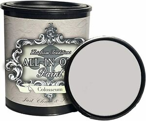 Heirloom Traditions All-in-One Furniture Paint, Colosseum, 32oz Quart, NEW