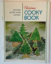 VTG 1972 WISCONSIN ELECTRIC POWER CO. CHRISTMAS COOKY BOOK Cookies Recipes