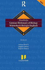 German Dictionary of Biology Vol 2: (English-German) Vol 2 (Routledge Bilingual