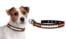 Washington Redskins Medium Leather Lace Dog Collar [NEW] Pet Cat Lead CDG NFL