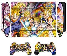 Dragon Ball 272 Skin Sticker PS3 PlayStation 3 Super Slim & 2 controller skins