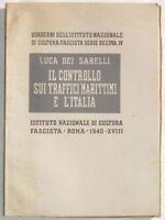 1940 DEI SABELLI CONTROLLO TRAFFICI MARITTIMI MARINA