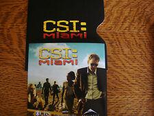 CSI MIAMI EMMY DVD 2 EPISODES APPRX 1HR23MIN +PIC  DAVID CARUSO EMILY PROCTER