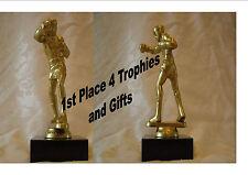 Clearance Boxing Trophy Award Free Engraving Budget award