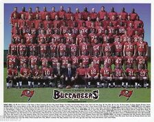 1999 TAMPA BAY BUCCANEERS NFL TEAM 8X10 PHOTO PICTURE