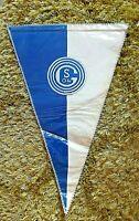 Orig. Gestickter Wimpel FC Schalke 04 Übergabe Fussball Gelsenkirchen Bundesliga