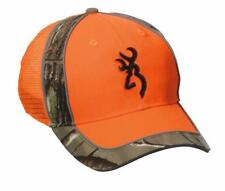 Browning Polson Cap Orange Camouflage Chasse Tir Taille Unique
