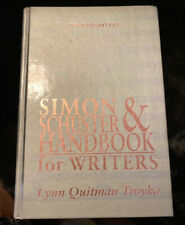 Simon & Schuster Handbook For Writers By Troyka, Fourth Edition, 1996, HC, EUC