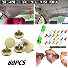 60 pcs Snap Rivet  Car Roof Repair Rivets Sagging Headliner Fix Repair Pins