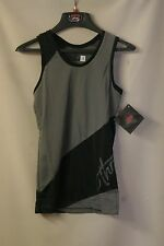 THOR JUNIOR THROTTLE TANK TOP    GREY/BLACK     SIZE SMALL