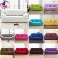 1 2 3 4 Seater Stretch Chair Sofa Cover Slipcover Couch Loose Covers Elastic
