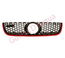 VW Polo Front Grille With Red Moulding Gti Model 2005>2009