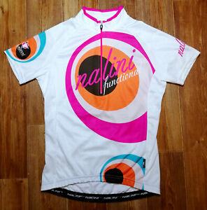 WOMEN'S SHIRT NALINI ORIGINAL CYCLING BICYCLE BIKE JERSEY MAILLOT SIZE M MEDIUM