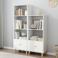 Cube Bookcase Shelving Unit Display Storage Wooden Shelf Home Office Furniture