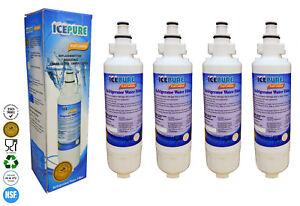 Panasonic CNRAH-257760 Compatible Fridge Water Filter IcePure RWF3400A x 4