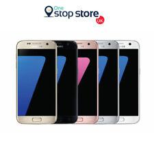 Samsung Galaxy S7 SM-G930F Sbloccato UK 32GB nero oro argento rose gold grado buona condizione