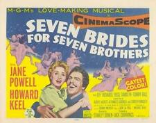 Seven Brides for Seven Brothers Movie POSTER 11 x 14 Howard Keel, A, USA, NEW