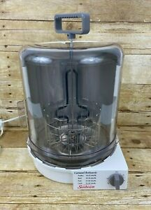 Sunbeam Carousel Electric Vertical  Rotisserie 4780 Tested Working