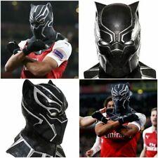 Black Panther Mask Latex Adults Fancy Dress Theme Costume aubameyang arsenal