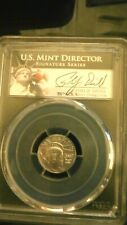 2007  P $10 Platinum Eagle, 1/10th Oz PCGS MS69 Signed by Philip Diehl