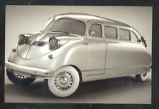 REAL PHOTO 1936 STOUT SCARAB UNUSUAL AUTOMOBILE CAR ADVERTISING POSTCARD COPY