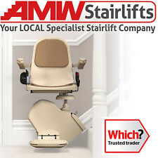 Reconditioned Brooks Slimline Stairlift, Factory Refurbished **2 Year Warranty**