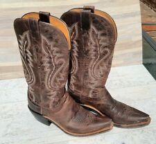 Lucchese womens boots 6 - cowboy western boots - leather CASSIDY M5002