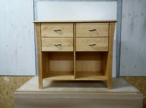 Wooden, Made In Denmark chest of drawers cabinet RRP £300  ( assembled or flat)