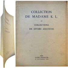Catalogue collection madame K. L. 1954 galerie Charpentier Brueghel Cuyp Leyden