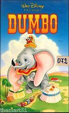 DUMBO (1941)  VHS  Disney  VS 4357    del 02/1992