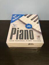 MUSICWARE Piano Your Personal Piano Teacher CD-ROM Windows 95 / 3.1 BRAND NEW