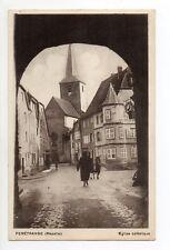 FENETRANGE finstingen Moselle CPA 57 l'église catholique